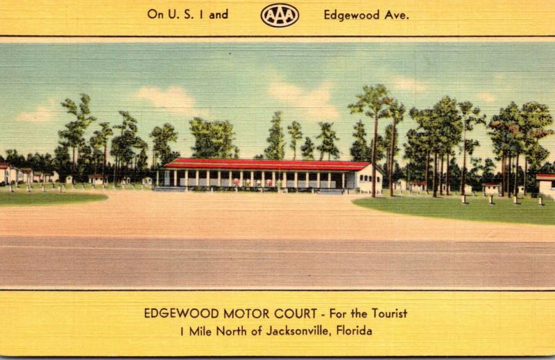 Florida Jacksonville Edgewood Motor Court