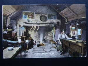 Isle of Man OLD PETE COTTAGE c1912 Postcard by Hartmann 2427.75