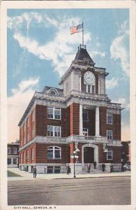 Exterior,  City Hall,  Geneva,  New York,  PU_00-10s