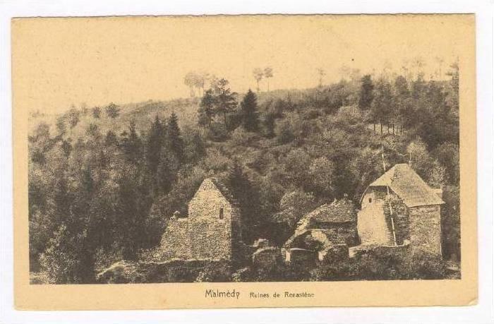Ruines De Renastene, Malmedy (Liege), Belgium, 1900-1910s