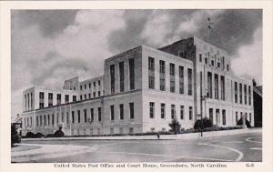 United States Post Office And Court House Greensboro North Carolina