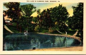 Virginia Roanoke Lake In Elmwood Park