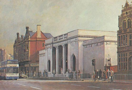 Don Micklethwaite Ferens Art Gallery Kingston Upon Hull Painting Postcard