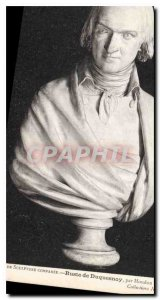 Postcard Old Scuplture Comparee Bust Duquesnoy