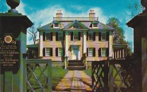 Massachusetts Cambridge Longfellow Home