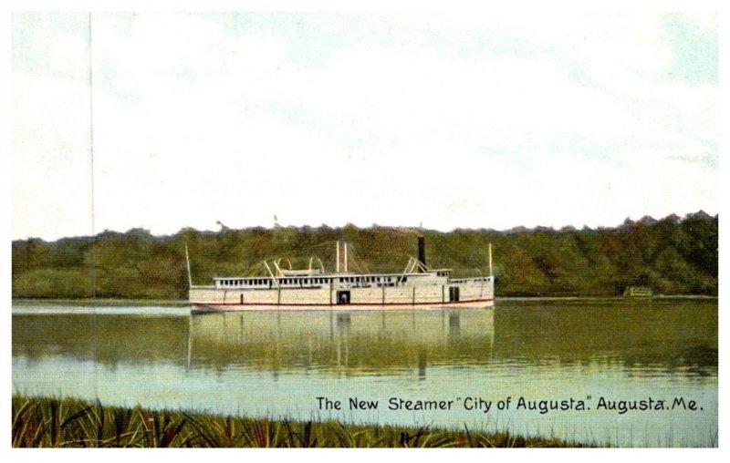 Maine  Augusta , Steamer City of Augusta