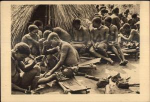 Equatorial Africa Nude Women Funeral Day Oubangui-Chari Ubangi-Shari PC