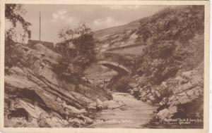 TUCK: TEBAY, Cumbria, England, United Kingdom; The Lune Bridge from the South...