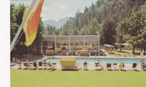 Swimming Pool, The Harrison Hotel, Harrison Hot Springs, B.C.,  Canada, 40-60s