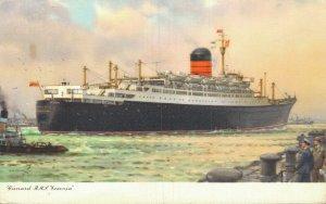 Cunard R.M.S Ivernia Steamer 05.58