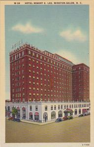 Hotel Robert E Lee Winston Salem North Carolina