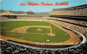 Dodgers Stadium Los Angeles, California, CA, USA 1973