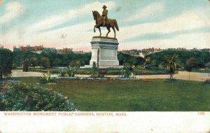 USA Washington Monument Public Gardens Boston Massachusetts 04.32