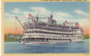 CINCINNATI , Ohio , 1930-40s , Coney Island Steamer Island Queen