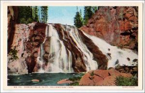 Gibbon Falls, Yellowstone Park