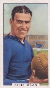 Dixie Dean Everton Football Club 1930s Cigarette Card