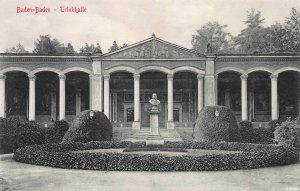 Drinking Hall, Baden, Baden, Germany, early postcard, unused