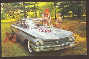 1959 BUICK LESABRE SPRINGFIELD MISSOURI CAR DEALER ADVERTISING POSTCARD MO '59