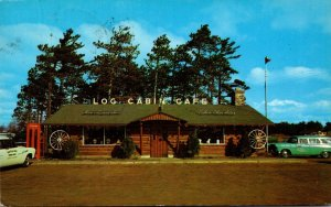 Wisconsin Schofield The Log Cabin Cafe 1950