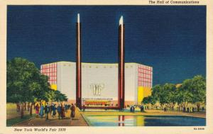 USA - New York World's Fair 1939 The Hall of Communications 01.87