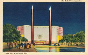 USA - New York World's Fair 1939 The Hall of Communications 01.87