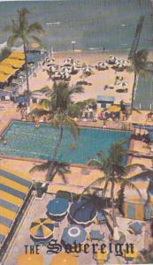 Florida Miami Beach The Sovereign 1955