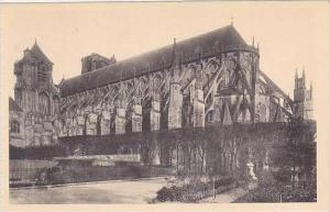 France Bourges Cathedrale Facade Sud-Est