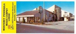 Magic Carpet Lodge , SEASIDE , California , 40-60s : OVERSIZE