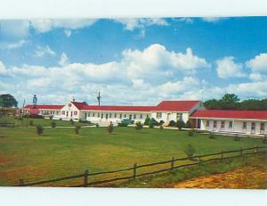 Unused Pre-1980 OLD CARS & VALLEY FORGE MOTOR COURT MOTEL Valley Forge PA s3320
