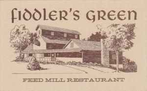New York Syracuse Feed Mill Restaurant Fiddler's Green