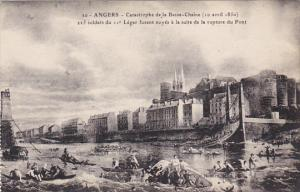 France Angers Catastrophe de la Basse 10 Avril 1850