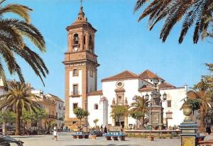 Spain Algeciras Cadiz, Plaza del Generalisimo, Iglesia de Ntra. Sra. de la Palma