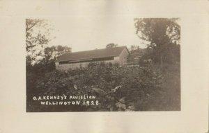 RP: WELLINGTON , Maine , 1928 ; O.A. Kenney's Pavillion