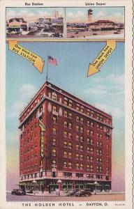 Ohio Dayton The Holden Hotel Curteich