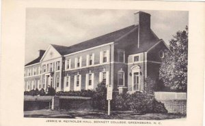 North Carolina Greensboro Jessie M Reynolds Hall Bennett College Albertype