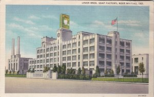 Indiana Whiting Lever Brothers Soap Factory 1937 Curteich sk5085