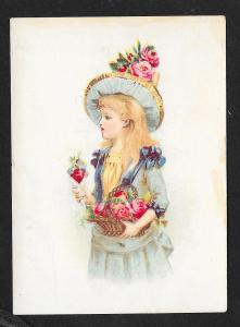 VICTORIAN TRADE CARD RL Wicke Harnesses Trunks & Valises