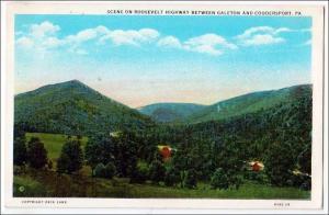Roosevelt Highway, Galeton - Coudersport PA