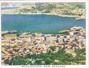 Churchman Cigarette Card Wings Over Empire No 47 Wellington New Zealand
