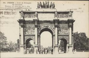 Paris Arc de Triomphe du Carrousel