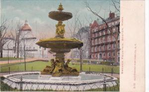 Massachusetts Boston Brewer Fountain