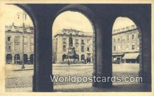 Reims, France, Carte, Postcard La Place Royale  La Place Royale