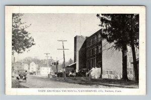 Bantam CT-Connecticut, Trumbull Vanderpoel Company, Period Cars Vintage Postcard