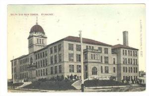 Exterior, South Side High School,Milwaukee, Wisconsin,PU-1911