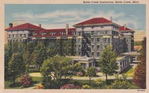 Michigan Battle Creek Sanitarium Curteich