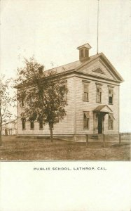 Lathrop California San Joaquin C-1910 Postcard Polychrome 21-5999