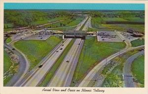 Illinois Aerial View Of Illinois Oasis Fred Harvey Restaurants