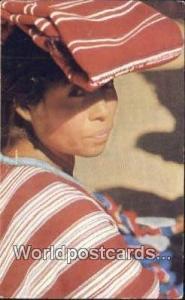 Patzum Guatemala, Central America Indian Girl Patzum Indian Girl