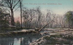 Iowa Marshalltown View Along Iowa River