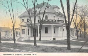 Brainerd Minnesota Northwestern Hospital Vintage Postcard JD933486